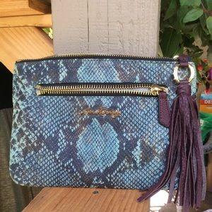 Aimee kestenberg clutch bag tassel trim